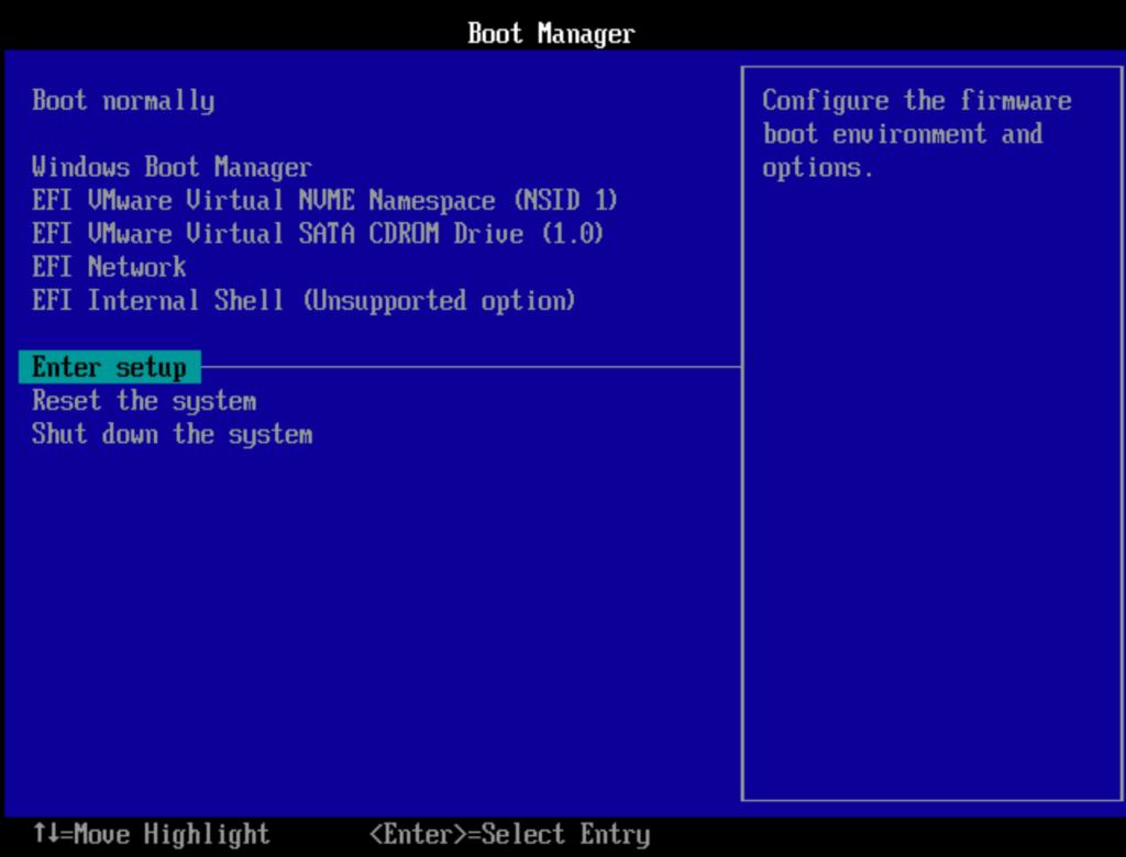 BIOS UEFI Windows 10