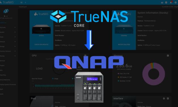 Come installare TrueNAS su QNAP