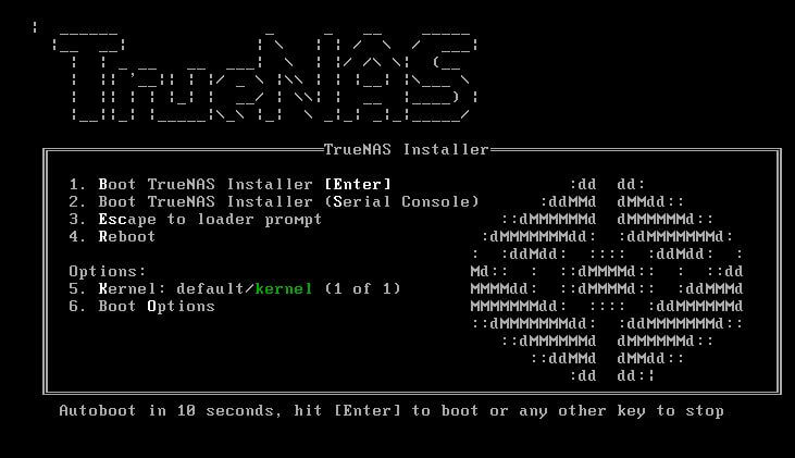 truenas-su-qnap-bootloader