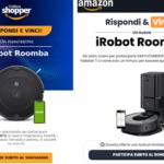 AMAZON TRUFFA: Rispondi e Vinci un iRobot Roomba